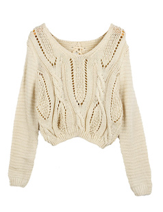 /cable-knit-lace-up-crop-long-sleeve-sweater-p-1026.html