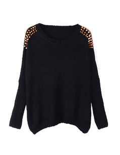 /embellished-spiked-studs-chain-wide-bat-sleeves-sweater-p-722.html