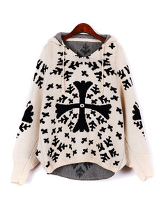 /apricot-asymmetric-snowflake-cross-christmas-hooded-sweater-p-1238.html