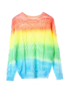 /ru/tiedye-rainbow-thick-twisted-weave-loose-sweater-p-759.html
