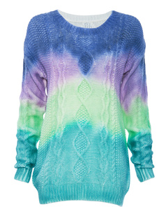 /tiedye-rainbow-thick-twisted-weave-loose-sweater-p-761.html