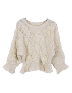 /3d-floral-rose-frill-peplum-crop-sweater-knitwear-beige-p-1227.html