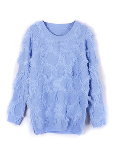 /ru/tassle-baggy-crew-neck-sweater-blue-p-1291.html