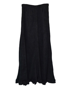 /elastic-wasit-scrolled-hem-knitted-maxi-skirt-black-p-5510.html