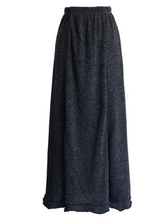 /pt/elastic-wasit-scrolled-hem-knitted-maxi-skirt-grey-p-5508.html