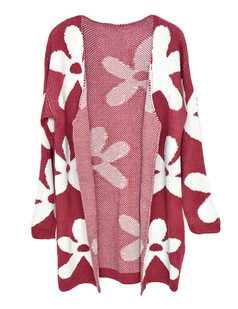 /oversize-flower-pattern-knit-open-cardigan-red-p-5444.html