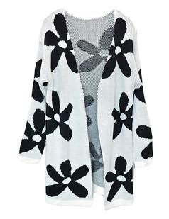 /fr/oversize-flower-pattern-knit-open-cardigan-white-p-5442.html
