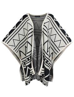 /batwing-sleeve-magar-totem-print-cardigan-beige-p-4260.html