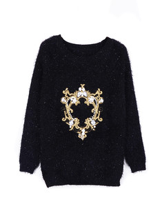/women-crown-beaded-embroidered-mohair-sweater-black-p-1347.html