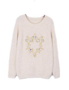 /women-crown-beaded-embroidered-mohair-sweater-beige-p-1348.html