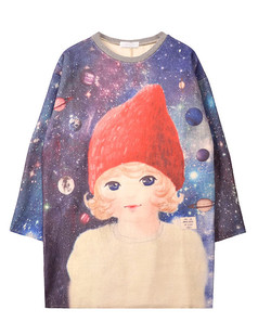 /cute-girl-galaxy-loose-print-sweatshirt-p-1336.html