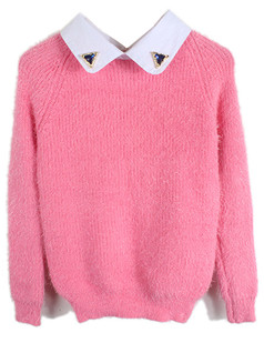/beads-collar-mohair-fluffy-sweater-pink-p-4874.html