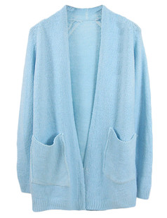 /buttonless-oversized-pocketed-loose-knitted-cardigan-blue-p-5190.html