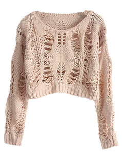 /es/slouchy-twisted-crop-hollow-knit-sweater-pink-p-4766.html