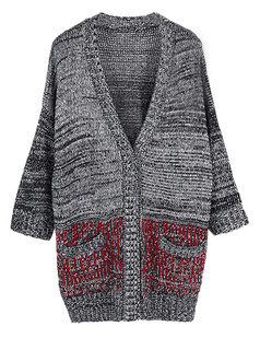/ru/boyfriend-oversized-pocketed-loose-knitted-cardigan-red-p-5218.html