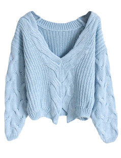 /doublesided-wear-cable-knit-loose-sweater-blue-p-5366.html