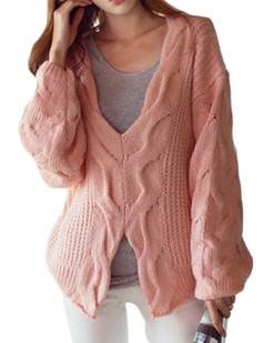 /doublesided-wear-cable-knit-loose-sweater-pink-p-5370.html