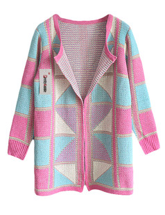 /geometric-pattern-open-knitted-cardigan-pink-p-5802.html