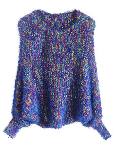 /colorful-mohair-bat-sleeves-knitted-sweater-blue-p-5124.html