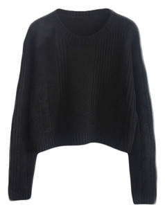/cable-knit-crop-jumper-sweater-black-p-5098.html