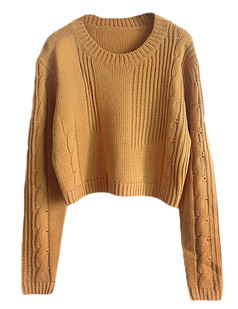 /cable-knit-crop-jumper-sweater-yellow-p-5110.html
