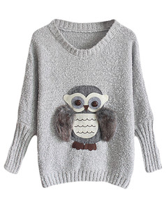 /owl-bat-sleeve-knit-jumper-sweater-grey-p-5450.html