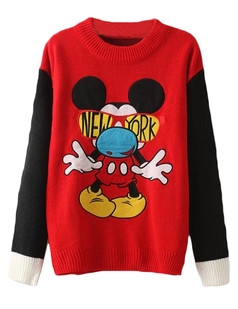 /cartoon-mickey-knit-jumper-sweater-red-p-5898.html