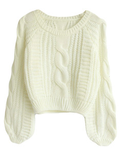 /ru/cable-puff-sleeves-knit-crop-sweater-white-p-5736.html
