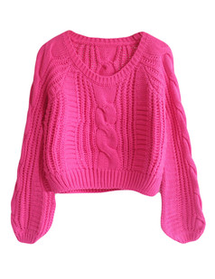 /cable-puff-sleeves-knit-crop-sweater-rose-p-5740.html