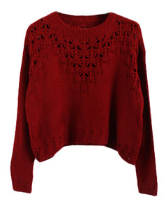 /hollow-eyelet-cropped-sweater-burgundy-p-5652.html
