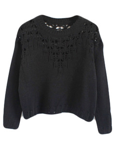 /hollow-eyelet-cropped-sweater-black-p-5648.html