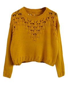 /hollow-eyelet-cropped-sweater-yellow-p-5650.html