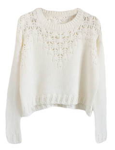 /hollow-eyelet-cropped-sweater-white-p-5646.html