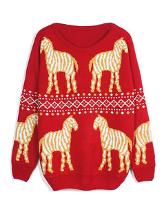 /es/cute-zebra-pattern-crew-neck-sweater-p-5028.html