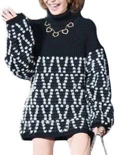 /turtle-neck-loose-lantern-sleeve-sweater-p-5330.html