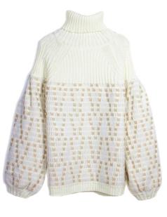 /turtle-neck-loose-lantern-sleeve-sweater-p-5332.html