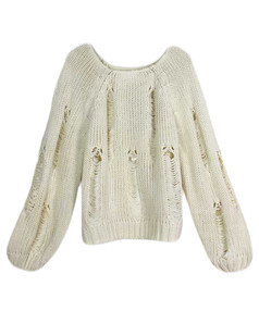 /distressed-unraveled-thread-woven-lantern-sleeve-sweater-p-5336.html