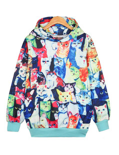 /multi-all-over-cats-print-hooded-sweatshirt-p-1361.html