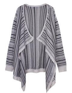 /es/irregular-pop-striped-knitted-sweater-wrap-cardigan-white-p-4846.html