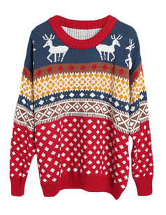 /deers-and-diamond-patterns-knitted-sweater-p-5838.html