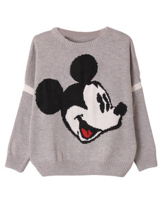 /cartoon-mickey-print-knit-sweater-grey-p-5932.html