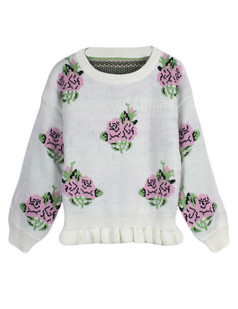 /rose-frill-hem-knitted-crop-sweater-p-4856.html