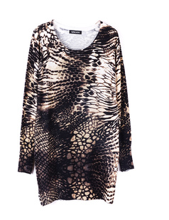 /pt/women-snakeskin-print-long-loose-cotton-sweater-p-711.html