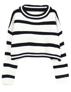 /stripe-crop-knitted-belly-sweater-p-4966.html