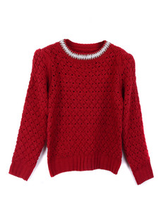 /women-crystal-pearls-beaded-hollow-crop-sweater-burgundy-p-1350.html