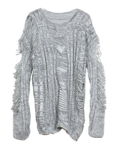 /ru/grey-distressed-frayed-cable-knit-sweater-p-5778.html