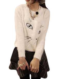 /ru/fluffy-shaggy-mohair-cat-face-print-sweater-p-5544.html