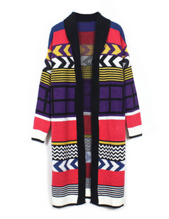 /es/shawl-collar-colorful-geometric-pop-long-cardigan-coat-p-5554.html