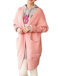 /fr/v-neck-batwing-sleeve-oversize-pocket-sweater-coat-p-5588.html
