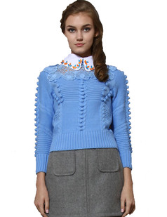 /blue-crochet-floral-lace-beads-collar-sweater-p-1157.html